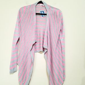 NWT DKNY Open Front Waterfalls Cardigan